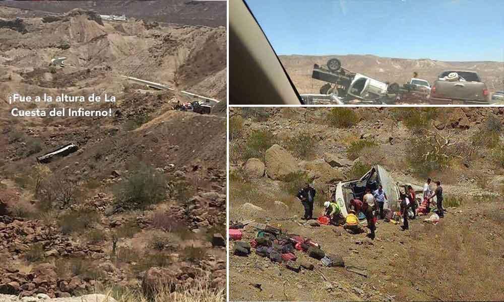 Fatal accidente de estudiantes de Normal fronteriza de Tijuana