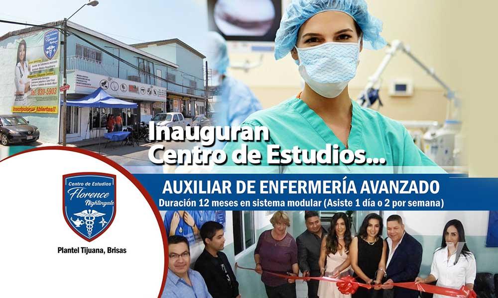 Inauguran en Tijuana el Centro de Estudios Florence Nightingale Plantel Brisas