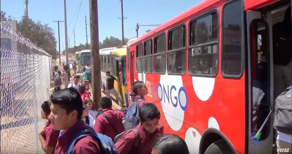 "Invitan a estudiantes a solicitar la beca ""Transporte Joven BC"" en Tecate"