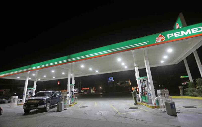 Pactan precio de gasolina homologado para la frontera