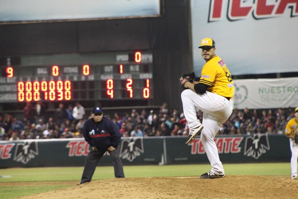 Manny Barreda lanza joya en semifinales del Pacífico