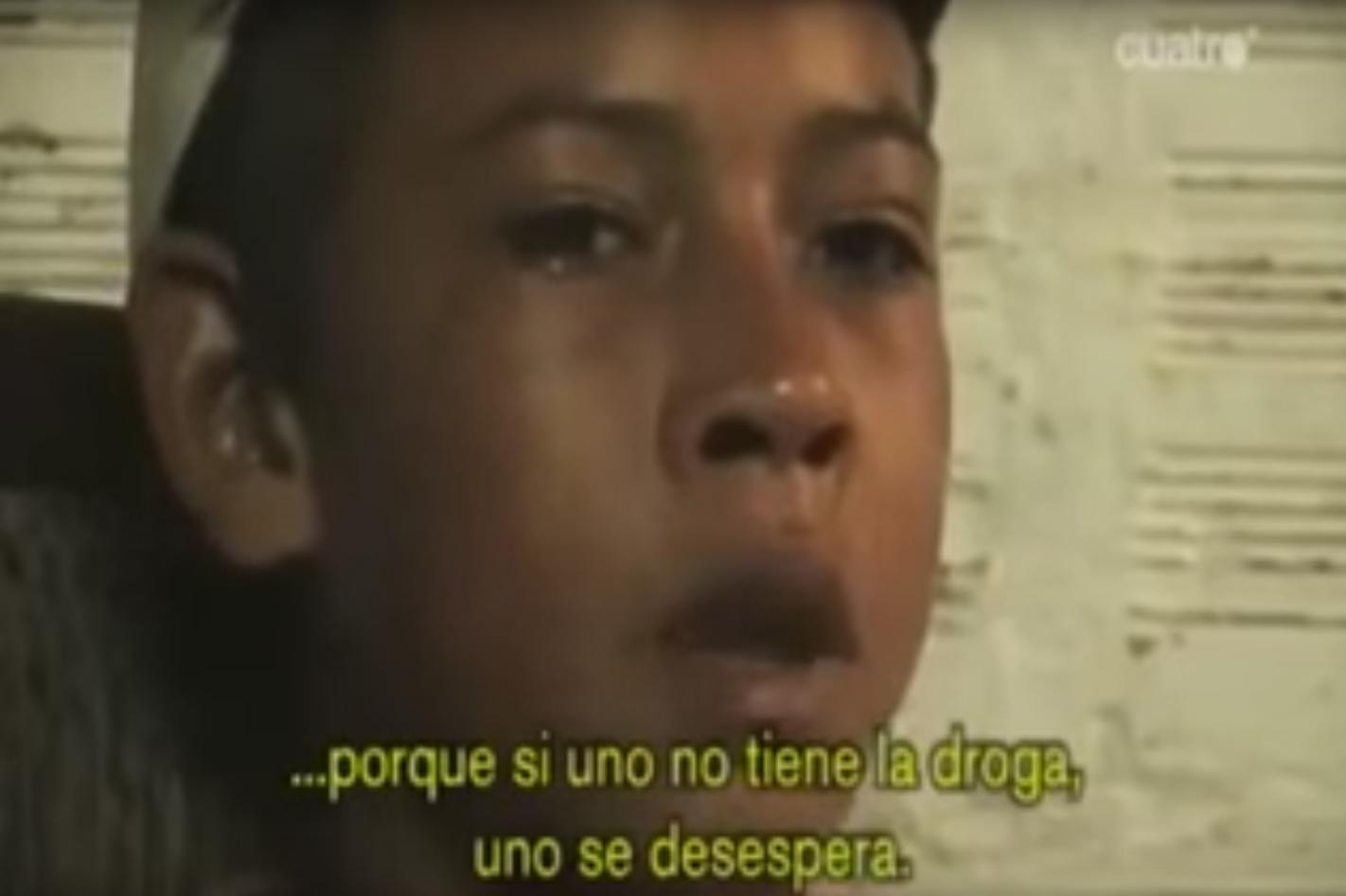 La historia de un niño sicario