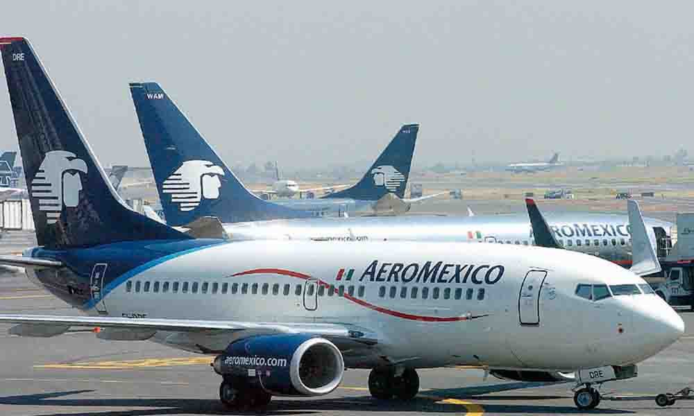 Aeroméxico ahora cobrará 500 pesos por documentar primera maleta