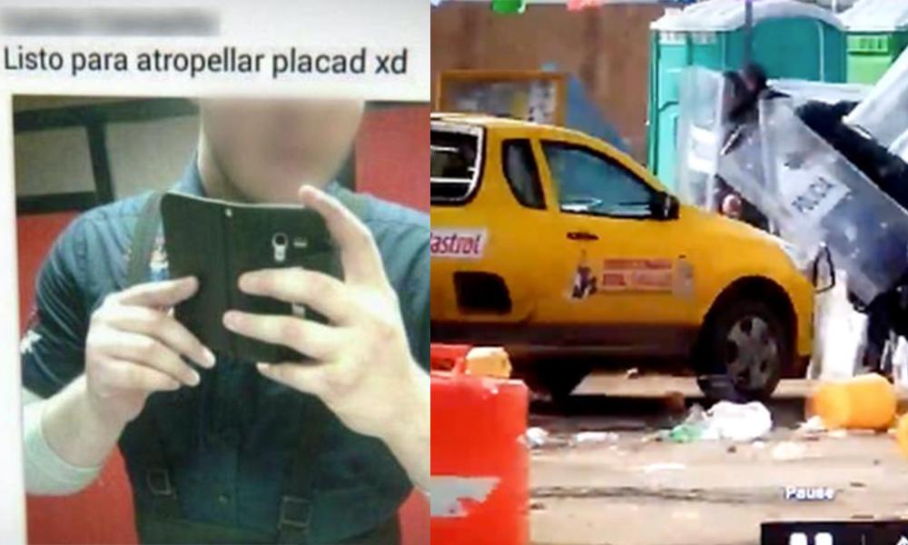 Identifican a responsable del atropellamiento de policías en PEMEX Rosarito