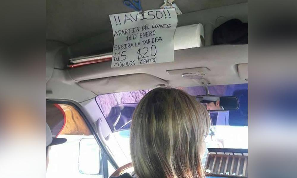 Denuncian cobros irregulares en transportes de Tijuana