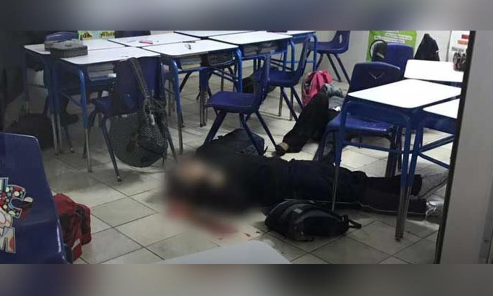 Menor balea a maestra y compañeros en colegio de Monterrey