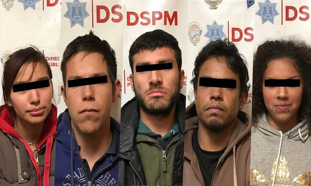 Desmantelan presunta banda de robacarros en Tecate