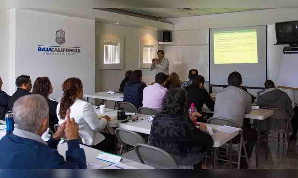 Inició Gobierno de BC programa anual de capacitación 2017