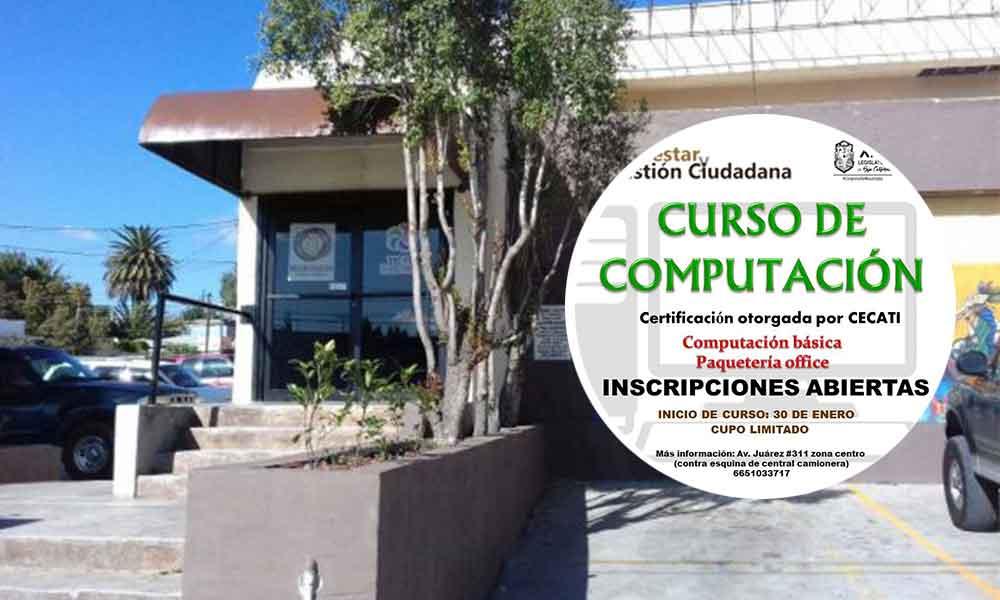 Ofrece Diputado Benja Gómez cursos de computación gratuitas