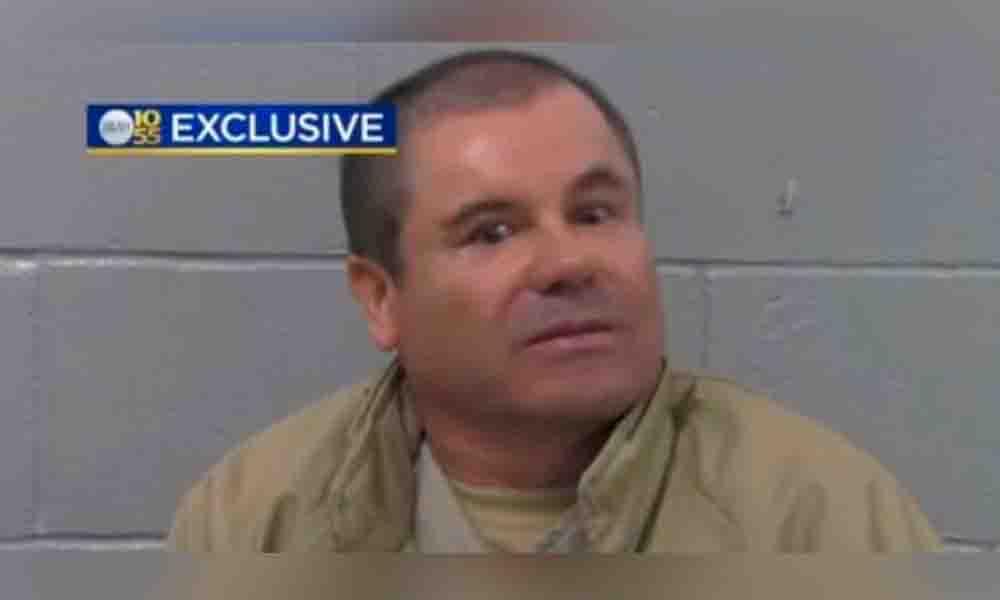 Sorprendido y lleno de terror, así se ve El Chapo en EU