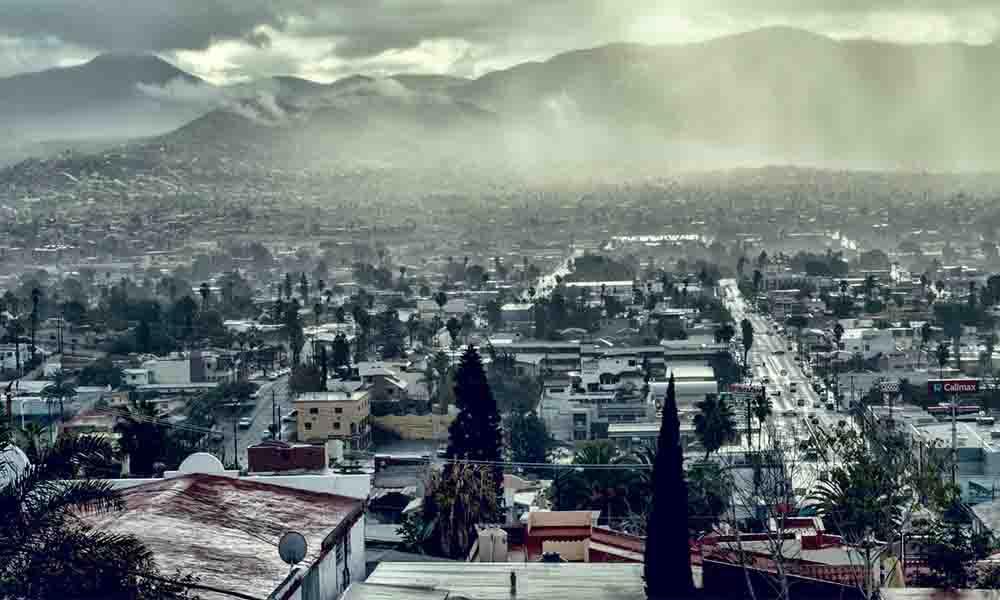 En Ensenada llovió lo que en un año