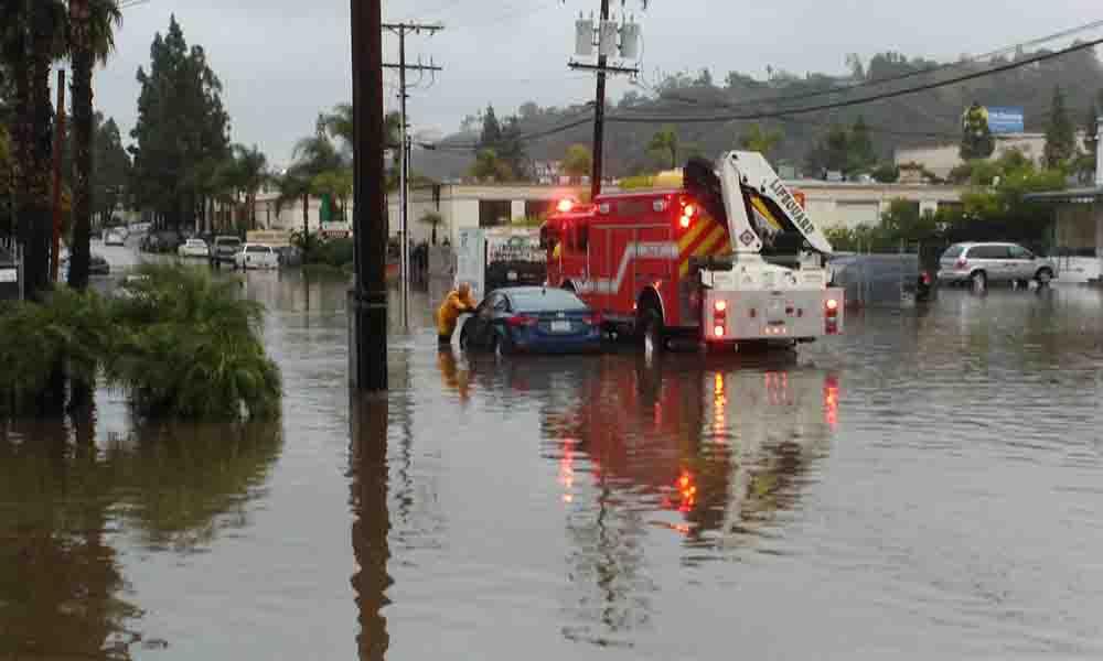 Declaran estado de emergencia en San Diego