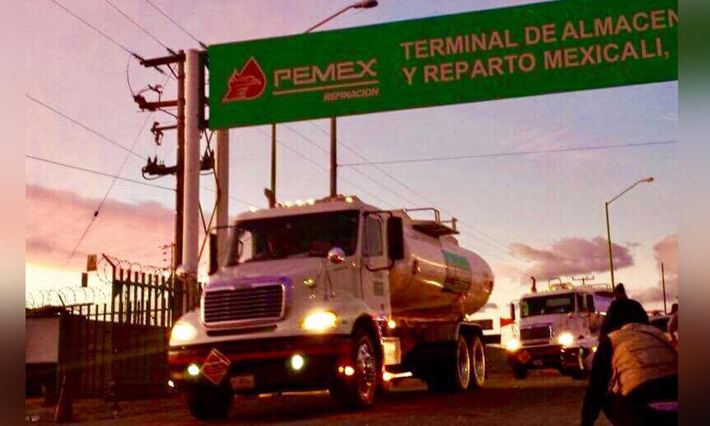 Tras seis días de loqueo, liberan terminal de Pemex en Mexicali