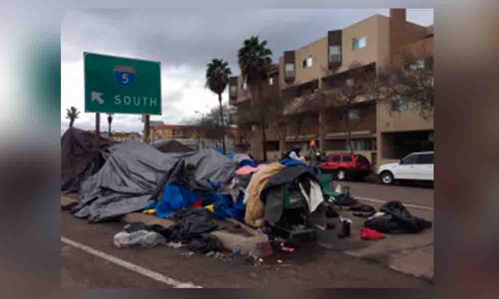 Incrementa número de personas sin hogar San Diego