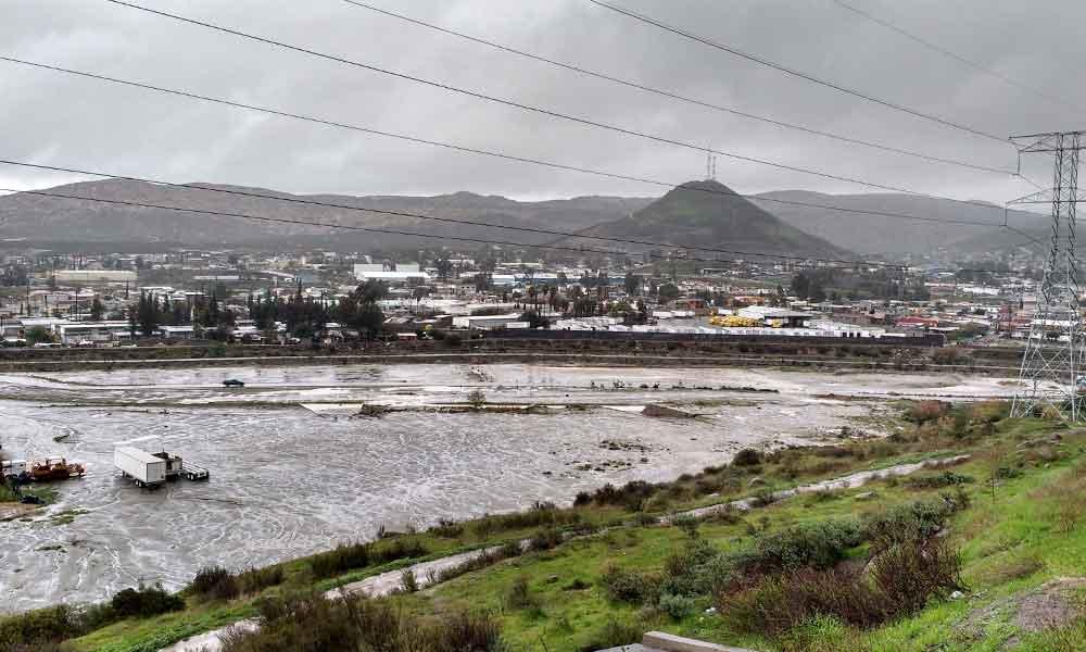 Habrá monitoreo constante por lluvias intensas en Tecate; Albergues serán activados si es necesario