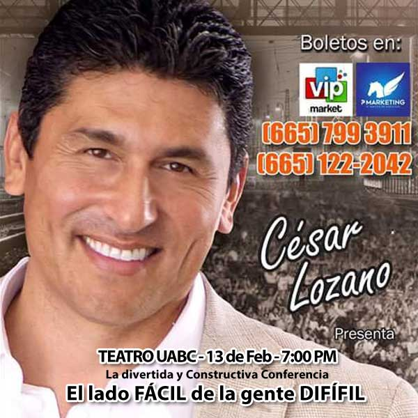 BANNER POP UP CESAR LOZANO