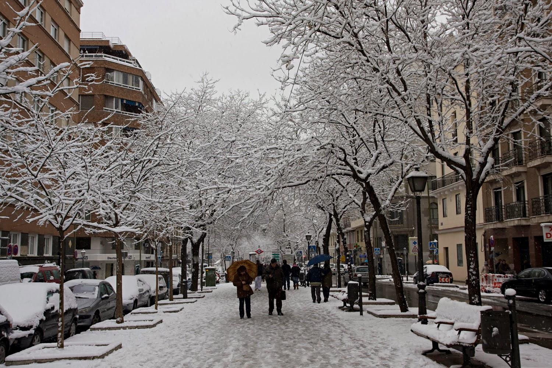 La nieve se adelanta en España a su día Internacional