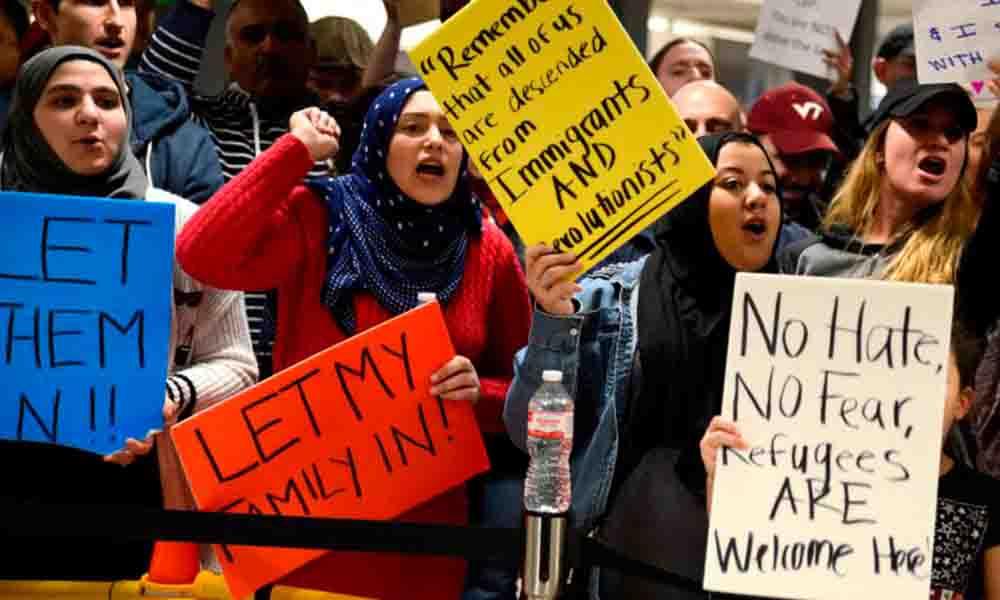 Trump prohíbe la entrada de inmigrantes de estos países