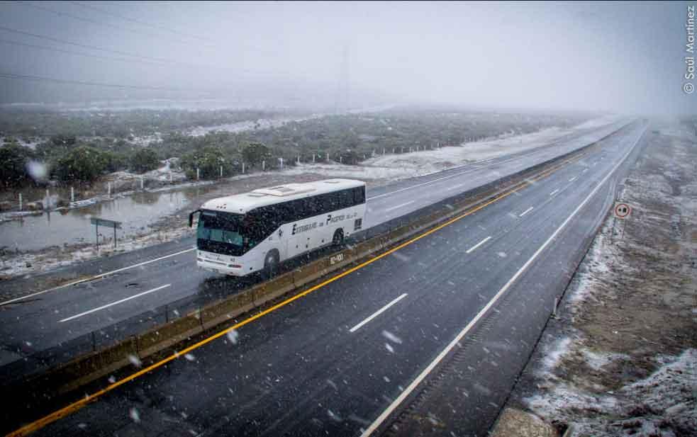Esperan nevada para La Rumorosa el sábado; El pronóstico de lluvia se intensifica: Protección Civil