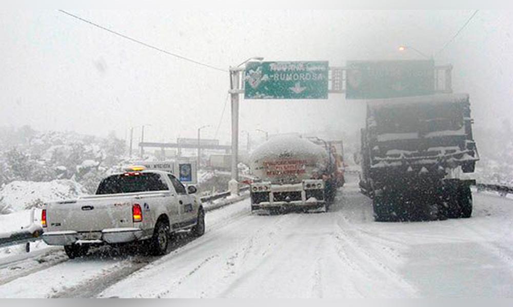 Podría nevar este fin semana en Baja California