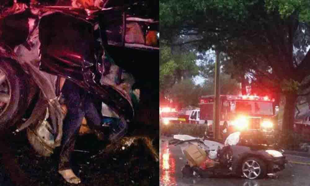 4 muertos tras accidente automovilístico en Vía Rápida Poniente