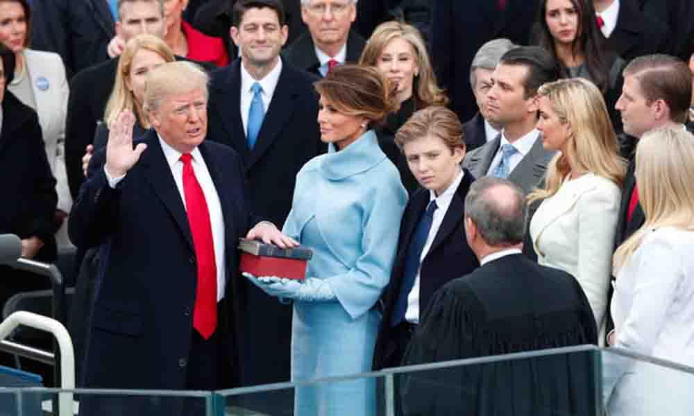 Toma protesta Donald Trump como Presidente de Estados Unidos