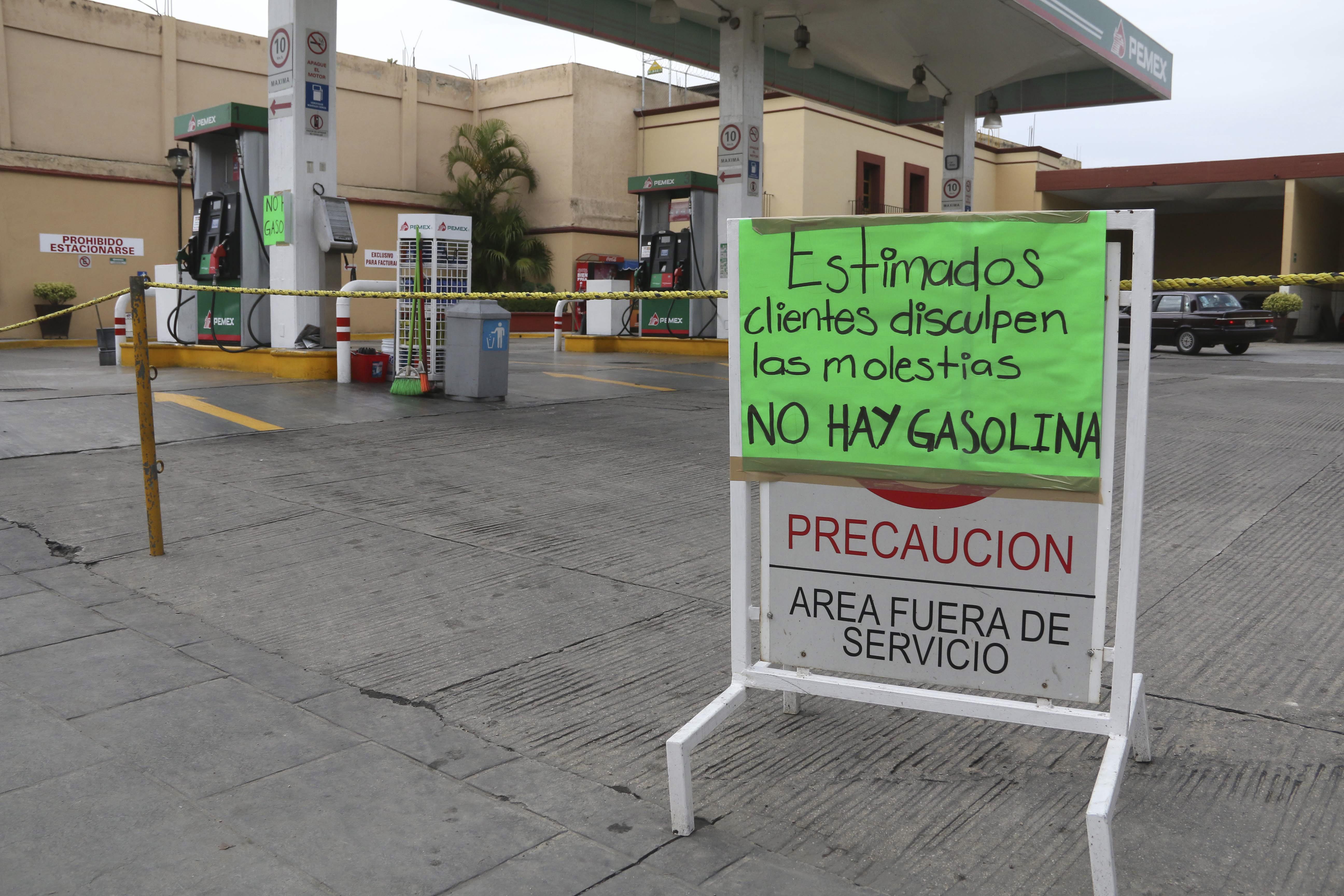 Sin gasolina Tijuana, Tecate y Rosarito