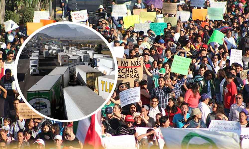 Hasta siete años de prisión para transportistas que bloqueen carreteras federales: SCT
