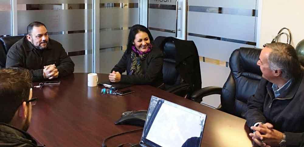Se reúne CESPTE con Sector Empresarial de Tecate
