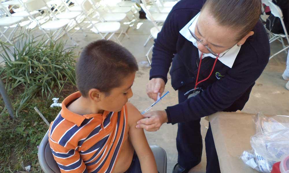 Existen más de 10 mil dosis contra la influenza disponibles en Centros de Salud de la Región