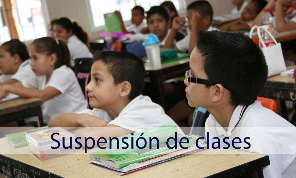 Suspenden clases para lunes en BC; martes se analizará