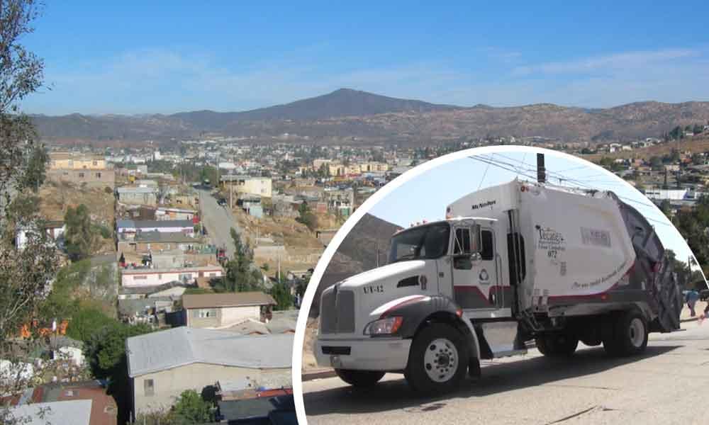 Por falta de recurso, empresa TECMED no recolectará la basura en Tecate