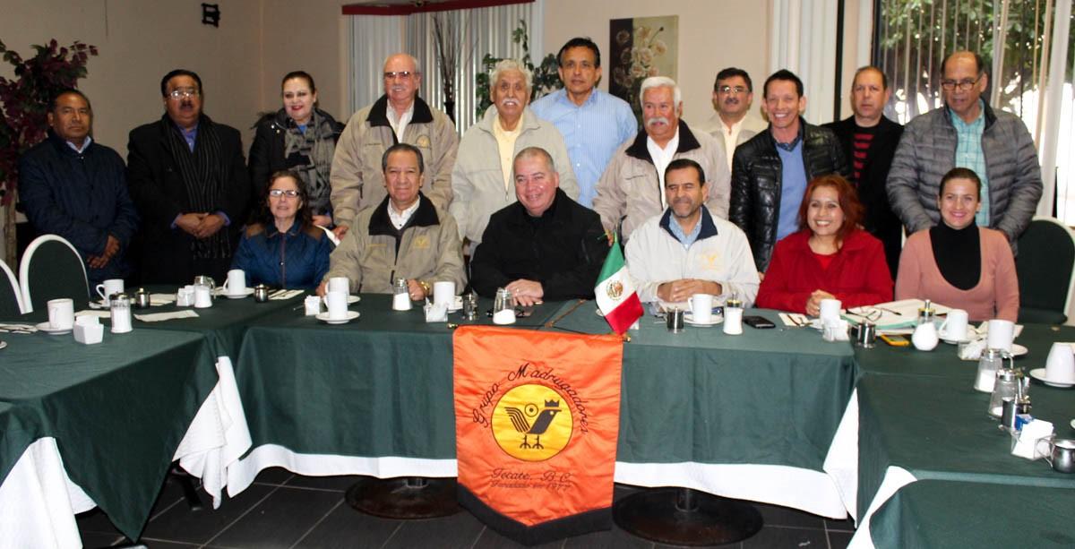 Ante grupo Madrugadores, expone Castro Trenti el programa de seguridad ciudadana