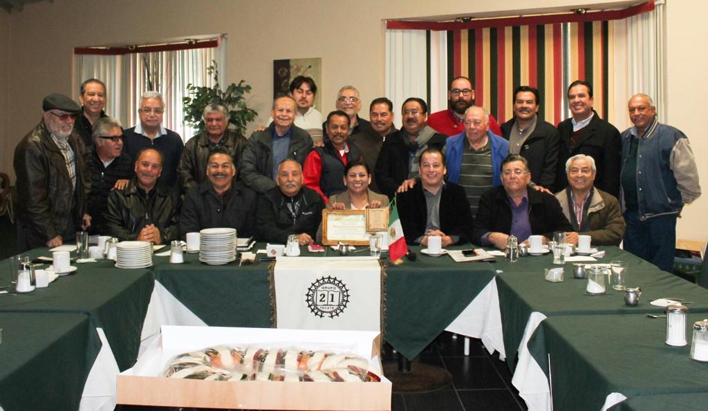Presenta alcaldesa Nereida Fuentes PMD a Grupo 21