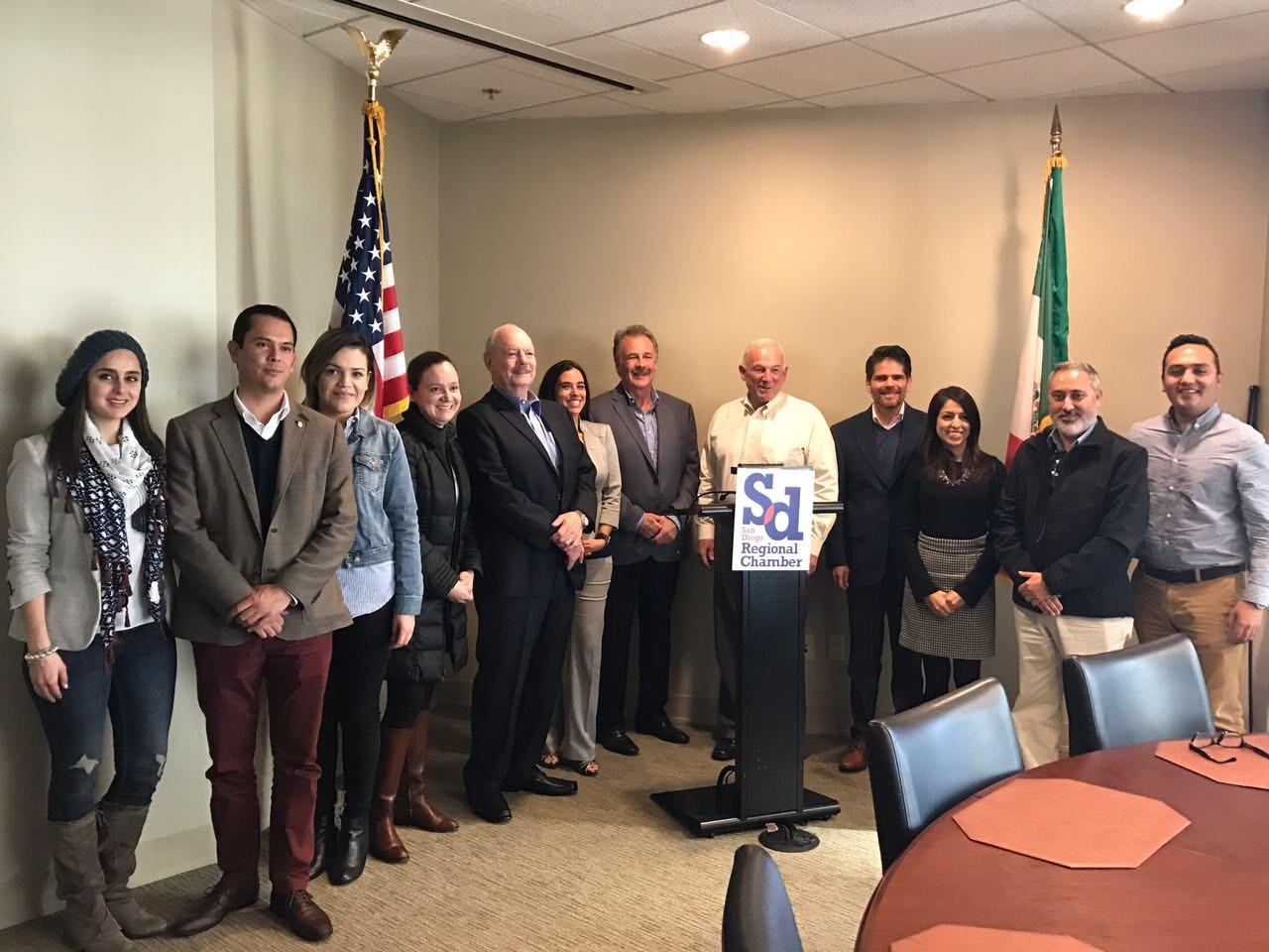 Continúa Gobierno de BC fortaleciendo relación binacional con San Diego
