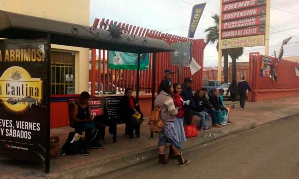 Suspenden servicio de transporte público en Rosarito