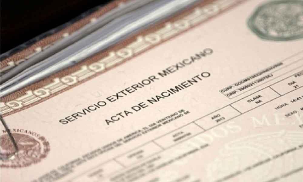 Migrantes mexicanos sin acta podrán registrarse en el extranjero
