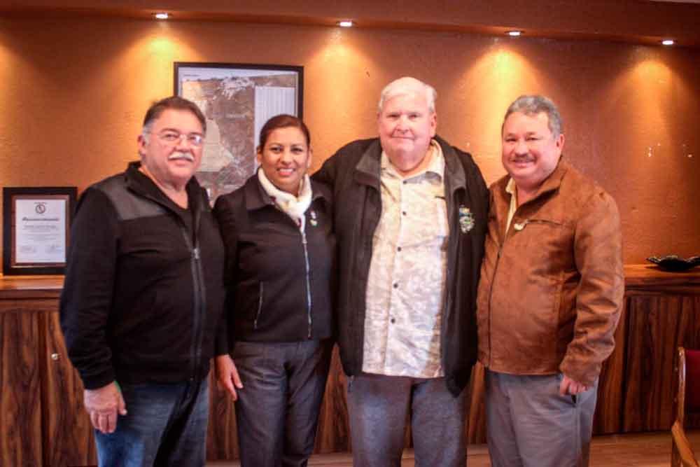 Sostienen reunión autoridades de Tecate y Del Monte para tratar asuntos de beneficio mutuo