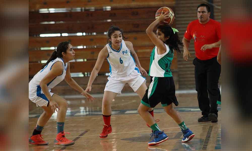 Basquetbol femenil se prepara para regionales