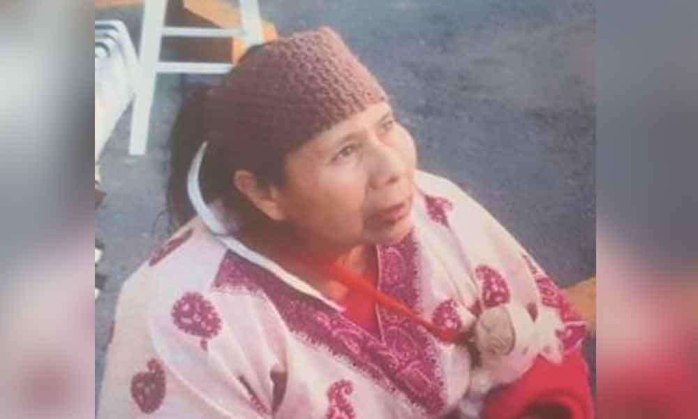 Bernarda de 66 años de edad se encuentra desaparecida; padece esquizofrenia