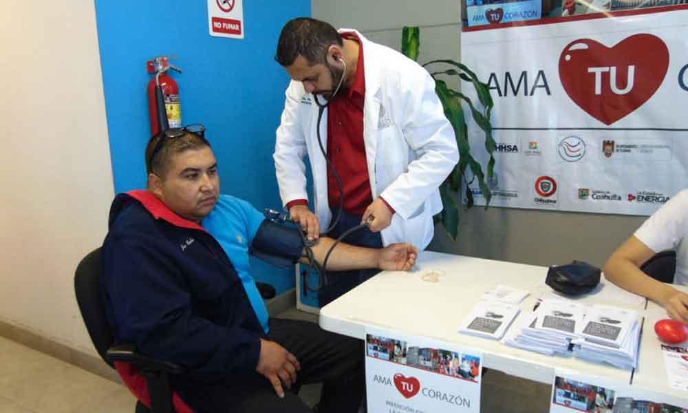 Anuncian campaña para la detección oportuna de la hipertensión arterial