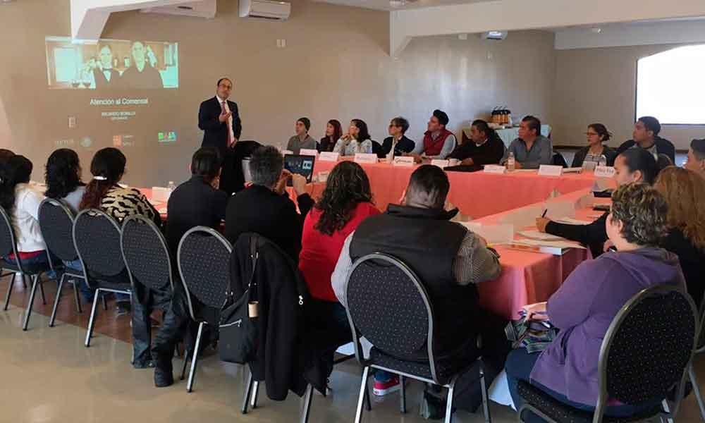 Capacita Gobierno de BC a servidores turísticos de Tecate