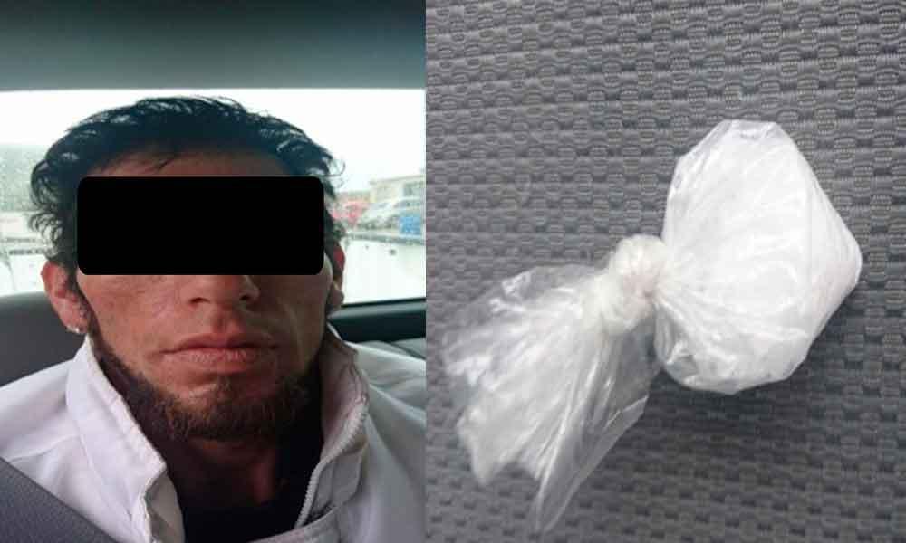 """Capturan en Ensenada a sujeto en portación de """"ICE"""""""