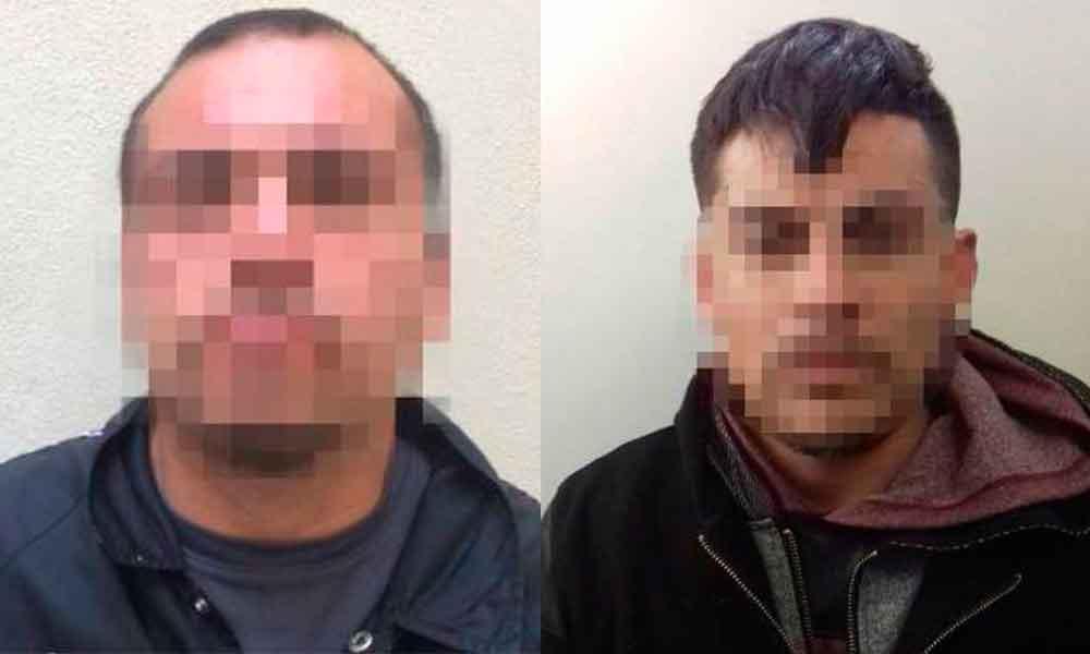 Capturan a dos sujetos por robo de vehículo en Tijuana