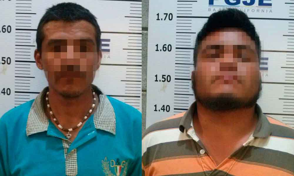 Capturan a dos sujetos por intento de homicidio en Tijuana