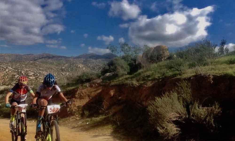 Un éxito estatal de ciclismo de montaña en Presa el Carrizo