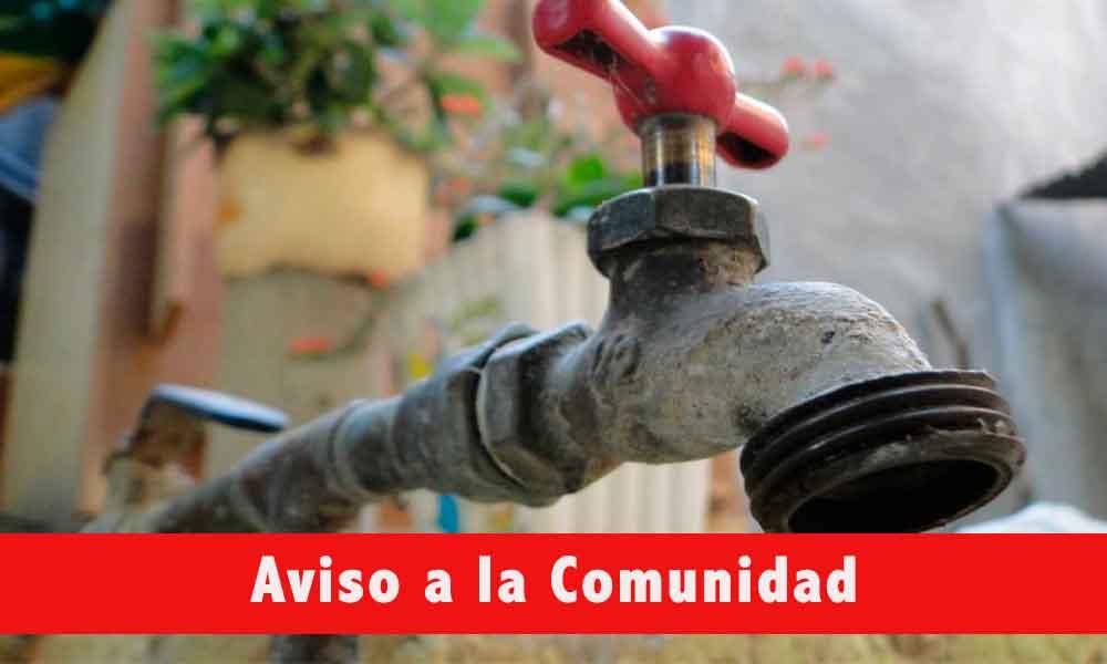 Sin servicio de agua 33 colonias de Tecate