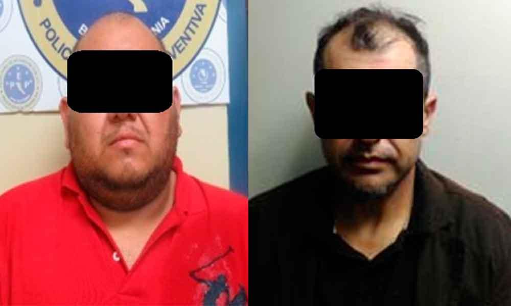 Capturan a sujetos en posesión de cocaína y marihuana