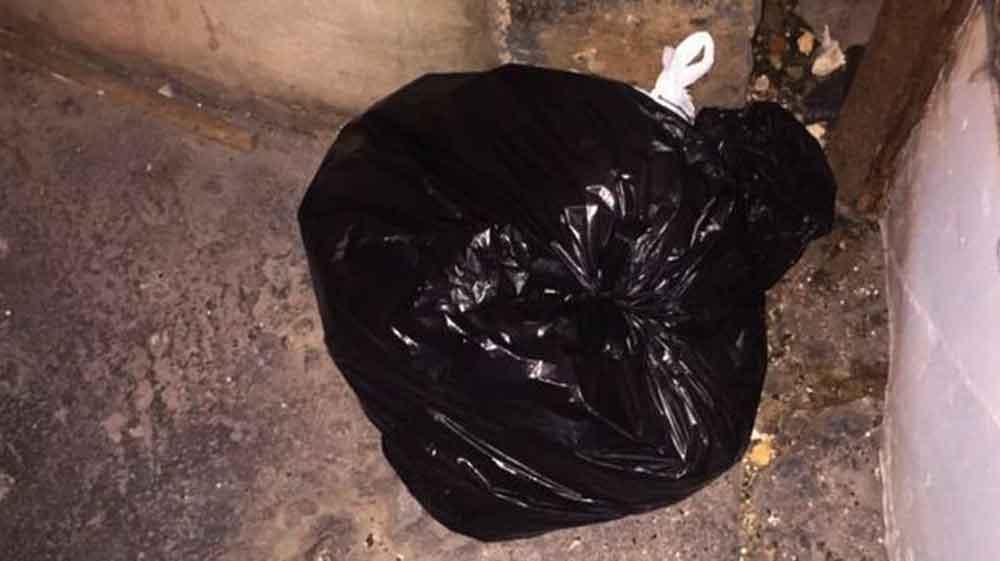 Encuentran cadáver embolsado en Villa del Campo