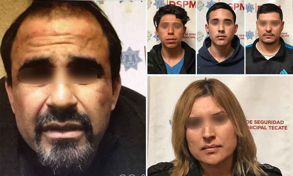 Familia persigue y agrede a elemento de la Policía Municipal en Tecate